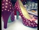 Giày cao gót bằng sô-cô-la mừng Lễ tình nhân