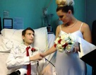 Cảm động trước lễ cưới của bệnh nhân ung thư giai đoạn cuối