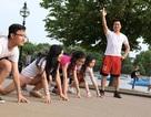 Du học sinh tham gia giải chạy tình nguyện ủng hộ trẻ em nghèo