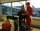 Ca sỹ Quang Linh giả vờ trễ chuyến bay để giúp Trương Thị May trên đường đến Nga