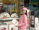 Hoa hậu Ngọc Hân xinh tươi ở Hàn Quốc