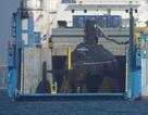 """Tàu ngầm Kilo Hải Phòng """"khoe dáng"""" trên Vịnh Cam Ranh"""