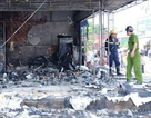Cháy rụi cửa hàng bán bánh pía, lạp xưởng