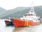 Lai dắt tàu cá cùng 10 ngư dân gặp nạn trên biển
