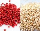 """""""Sự thật"""" loại bỏ mỡ thừa của hạt tiêu hồng và Quinoa"""