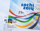 In tem mang hình ảnh của chính mình tại Olympic Sochi