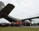 Trục vớt thi thể thứ 31, tìm thấy mảnh vỡ thứ 5 của máy bay QZ8501