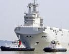 Pháp điều chiến hạm lớp Mistral đến Biển Đông chống cướp biển