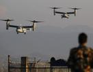 Mỹ điều 100 lính thủy đánh bộ, 6 máy bay tới hỗ trợ Nepal