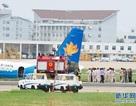 Máy bay Trung Quốc trượt khỏi đường băng, 7 người bị thương