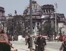 Xuất hiện đoạn phim màu về Berlin sau Thế chiến II