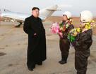Kim Jong-un thị sát phi công nữ tập luyện