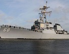 Tên lửa nổ ngay sau khi phóng, làm hư hỏng tàu chiến Mỹ