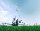 Tua bin gió di động, có thể điều chỉnh đặt trong công ten nơ vận chuyển