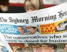 Báo giấy của Úc vật lộn trong cơn bĩ cực