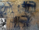 Bức tranh hang động lâu đời nhất của Mỹ