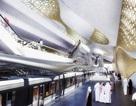 Ngắm nhà ga dát vàng siêu sang ở Ả Rập