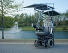 Xe lăn năng lượng mặt trời