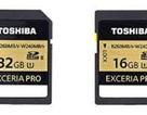 Thẻ nhớ tốc độ nhanh nhất thế giới của hãng Toshiba
