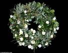 Ngắm vòng hoa Giáng sinh đắt nhất thế giới gắn 32 viên kim cương