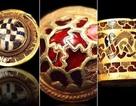 """Ngắm """"trang sức"""" dát vàng của các chiến binh"""
