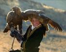 Hình ảnh bé gái 13 tuổi điều khiển đại bàng săn mồi cừ khôi