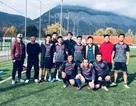 """130 du học sinh Việt """"đốt nóng"""" sân cỏ Giải bóng đá mùa đông UEVF 2017"""