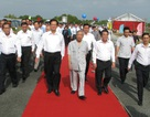 Thủ tướng dự lễ khánh thành cây cầu nối liền đường bộ Bắc - Nam