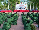 """Hơn 100 """"chiến sĩ nhí"""" Sóc Trăng tham gia học kỳ trong quân đội"""