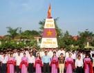 Khánh thành mô hình cột mốc đảo Trường Sa trong trường học