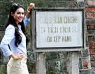 Á hậu Hoàng My đến Hà Nội để tận hưởng mùa thu