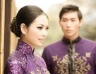 """Hoa hậu các dân tộc Ngọc Anh đón xuân cùng... """"chồng con"""""""