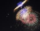 Bắn pháo hoa đầu đường hầm sông Sài Gòn mừng Quốc khánh