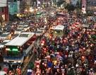Kẹt xe khủng khiếp ở cửa ngõ Sài Gòn