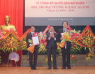 PGS Nguyễn Đình Thọ được bổ nhiệm làm Hiệu trưởng trường ĐH Hà Tĩnh