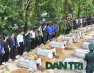 Truy điệu, an táng 19 hài cốt liệt sỹ hy sinh tại Lào