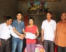 Trao hơn 46 triệu đồng đến gia đình chị Hoàng Thị Thương
