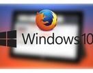 Mozilla ra mắt Firefox mới cải thiện hiệu suất và tối ưu cho Windows 10
