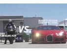 """Xem """"quái vật motor"""" đọ tốc độ cùng siêu xe ô tô"""