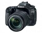 """Canon trình làng EOS 80D - Cảm biến 24 """"chấm"""", 45 điểm lấy nét"""
