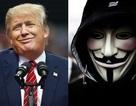 """Nhóm hacker khét tiếng Anonymous """"tuyên chiến"""" với ứng viên tổng thống Donald Trump"""