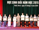 Ninh Bình trao thưởng cho 200 học sinh giỏi quốc gia, đạt giải tại các kỳ thi