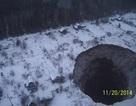 Hố tử thần khổng lồ được phát hiện gần khu mỏ cũ ở Nga