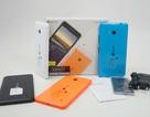 Đập hộp Lumia 640 chính hãng tại Việt Nam