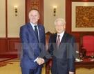 Tổng Bí thư Nguyễn Phú Trọng tiếp Thủ tướng New Zealand