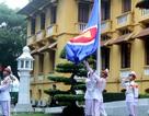 Lễ thượng cờ chào mừng Cộng đồng ASEAN tại Thủ đô Hà Nội