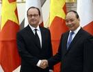 Tổng thống Pháp hội kiến Thủ tướng Nguyễn Xuân Phúc
