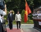 Hình ảnh Lễ đón Tổng thống Philippines tại Phủ Chủ tịch