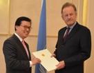 Đại sứ Việt Nam trình Quốc thư lên Liên hợp quốc
