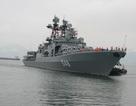 Hình ảnh tàu chống ngầm của Hải quân Nga tại cảng Tiên Sa, Đà Nẵng